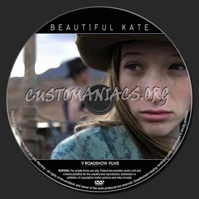 Beautiful Kate dvd label