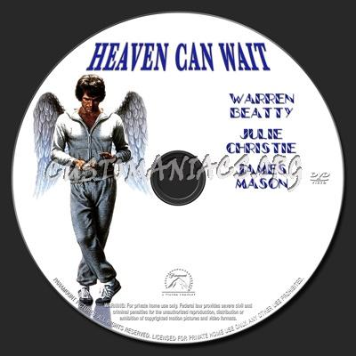 Heaven Can Wait dvd label
