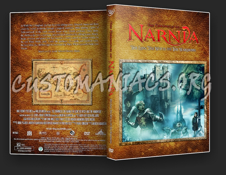 The Chronicles of Narnia: The Lion The Witch and the Wardrobe dvd cover
