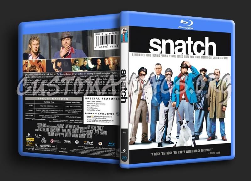Snatch blu-ray cover