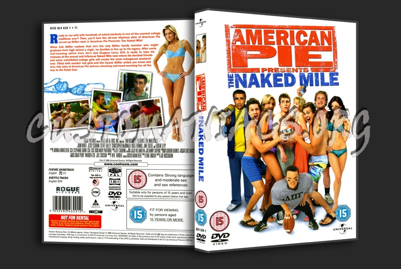 American Pie 5 - The Naked Mile dvd cover