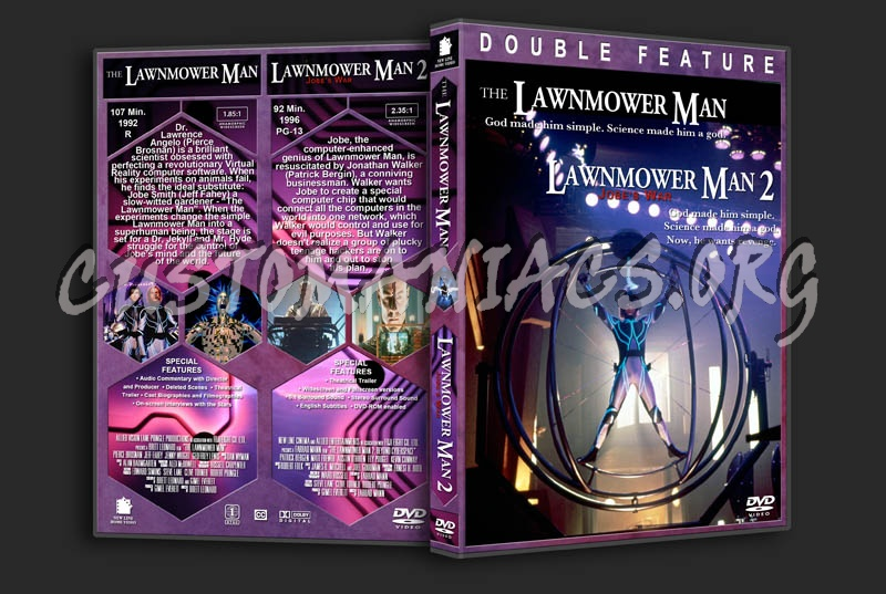 Lawnmower Man/Lawnmower Man 2 Double Feature dvd cover