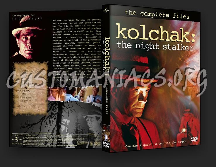 Kolchak The Night Stalker dvd cover
