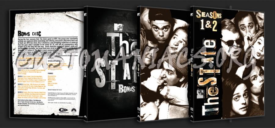 The State Seasons 1-4 & bonus disc