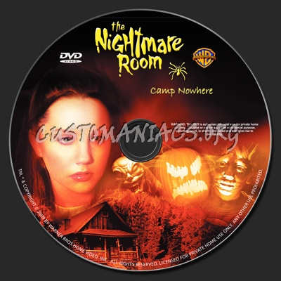 The Nightmare Room-Camp Nowhere dvd label - DVD Covers & Labels by ...