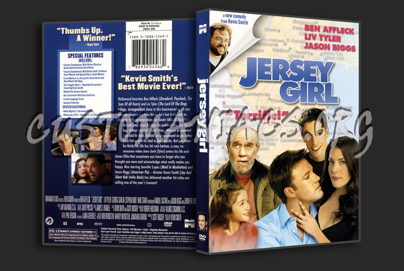 Jersey Girl dvd cover
