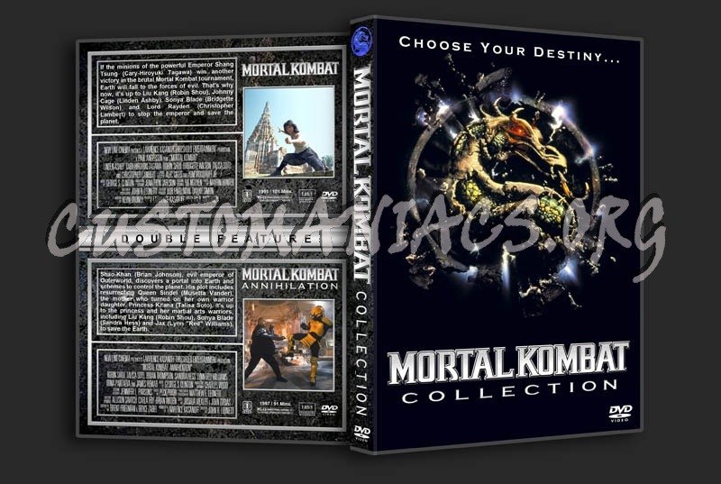 Mortal Kombat/Mortal Kombat: Annihilation Double dvd cover