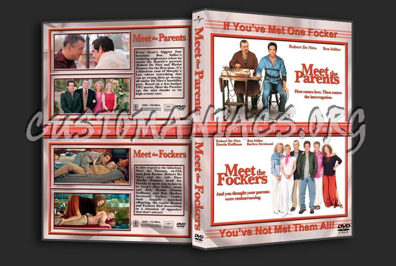 Meet the Parents/Meet the Fockers Double Feature dvd cover