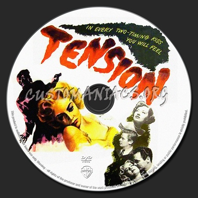 Tension dvd label