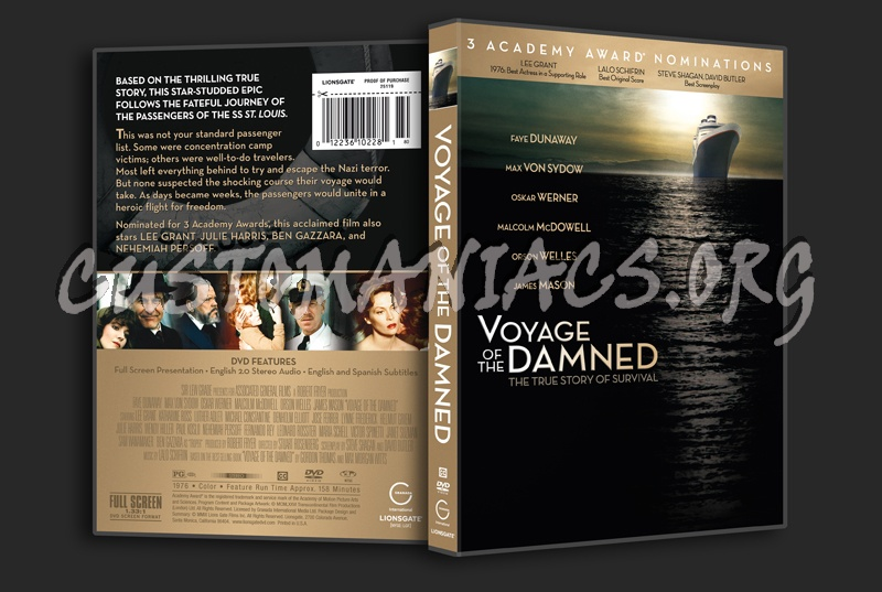 Voyage of the Damned dvd cover