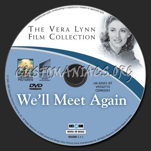 We'll Meet Again dvd label