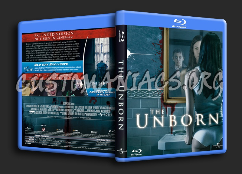 The Unborn blu-ray cover