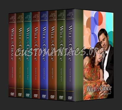 Will & Grace dvd cover