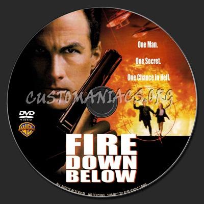 Fire Down Below dvd label