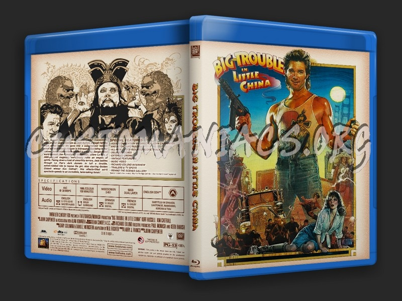 Big Trouble In Little China dvd cover