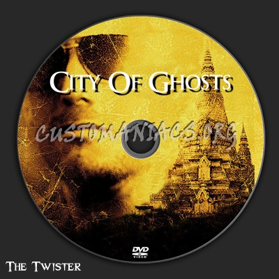 City Of Ghosts dvd label