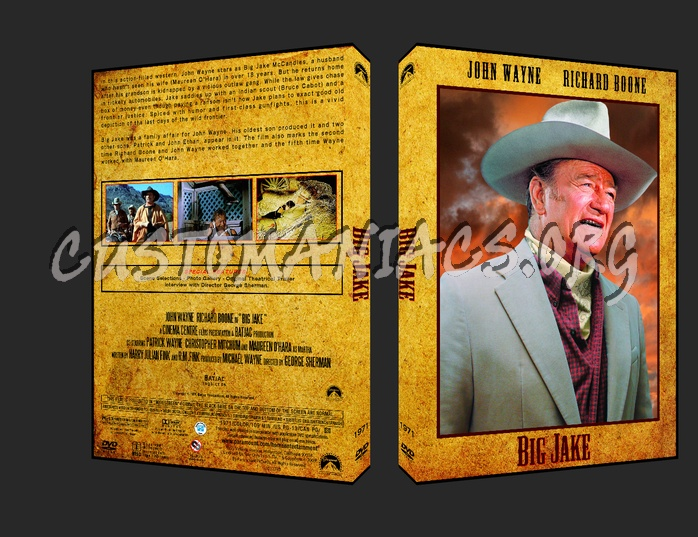 Western Collection Big Jake 1971 dvd cover