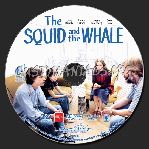 the squid and the whale The squid and the whale this film, written and directed by noah baumback, takes place in park slope brooklyn 1986 some critics claim that the.