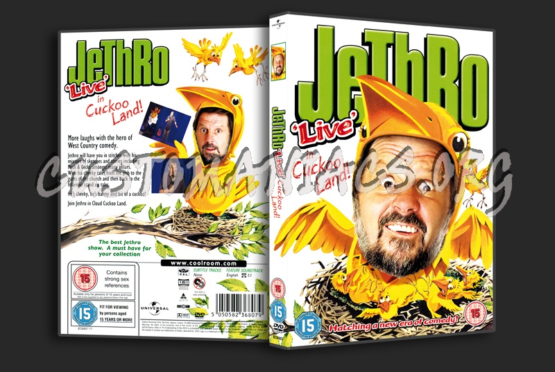 Jethro Live in Cuckoo Land dvd cover