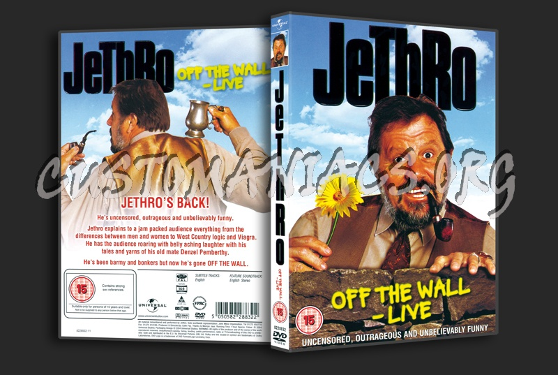 Jethro off the Wall Live dvd cover