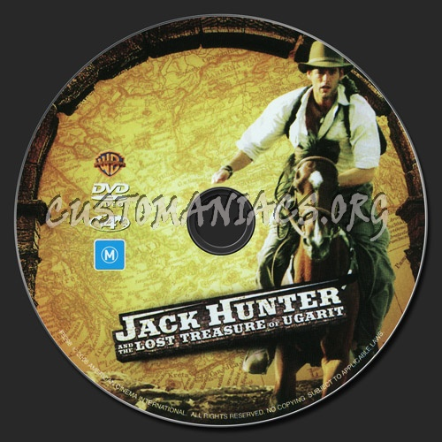 Jack Hunter & The Lost Treasure Of Ugarit dvd label