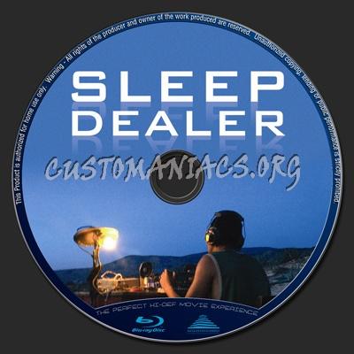 Sleep Dealer blu-ray label