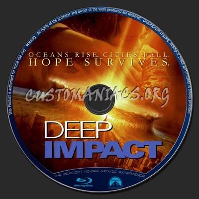 Deep Impact blu-ray label