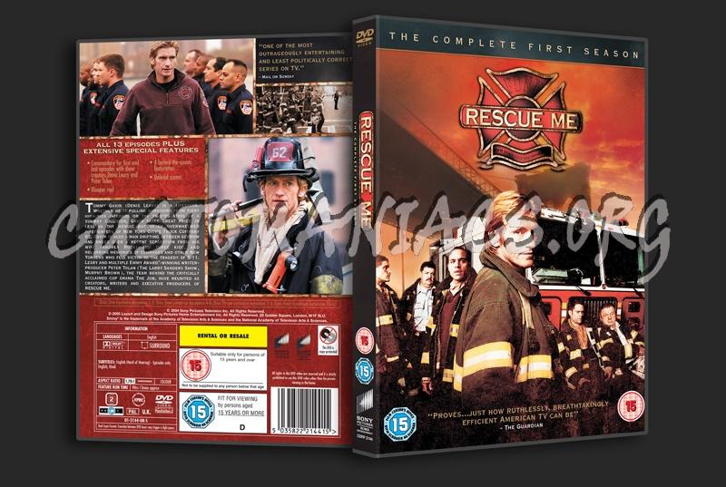 Rescue Me Season 1 dvd cover