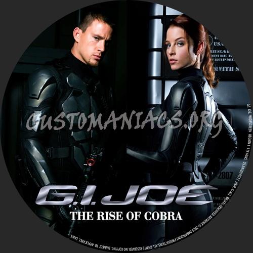 G.I. Joe dvd label