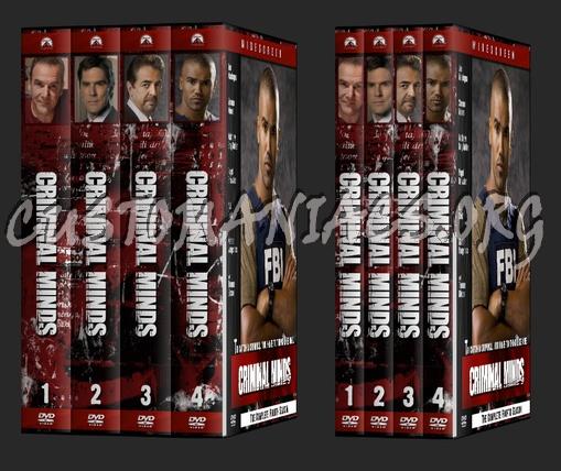 Criminal Minds dvd cover
