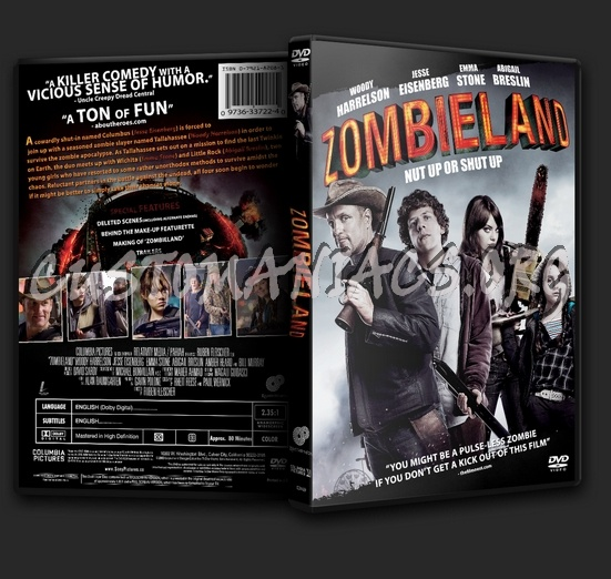 Zombieland dvd cover