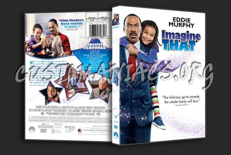 Imagine That dvd cover