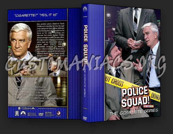 Police Squad - TV Collection dvd cover