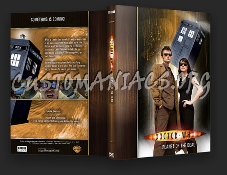 Doctor Who - the Planet of The Dead dvd cover