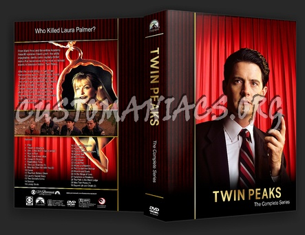 Twin Peaks dvd cover
