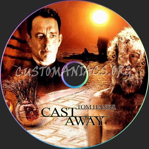 Cast Away dvd label