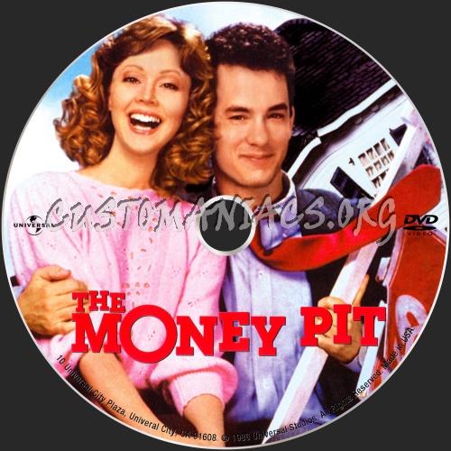 The Money Pit dvd label