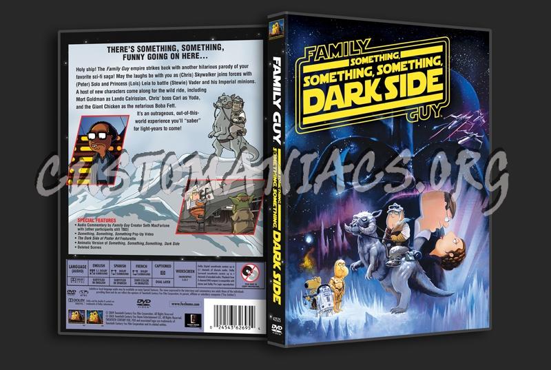 Family Guy: Something, Something, Something, Dark Side dvd cover