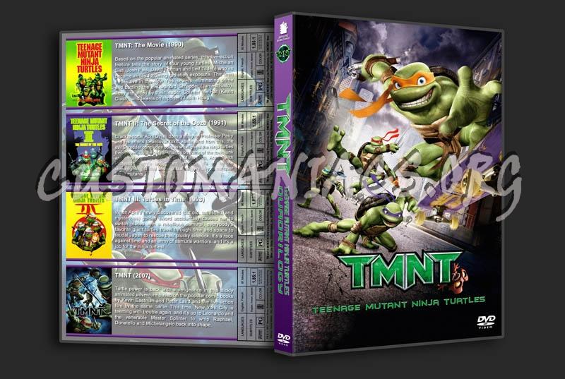 TMNT Quadrilogy dvd cover