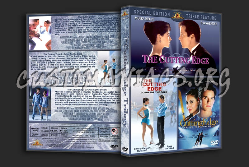 The Cutting Edge Trilogy dvd cover