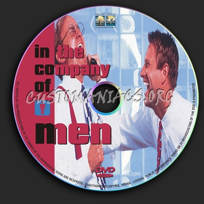 In The Company Of Men dvd label