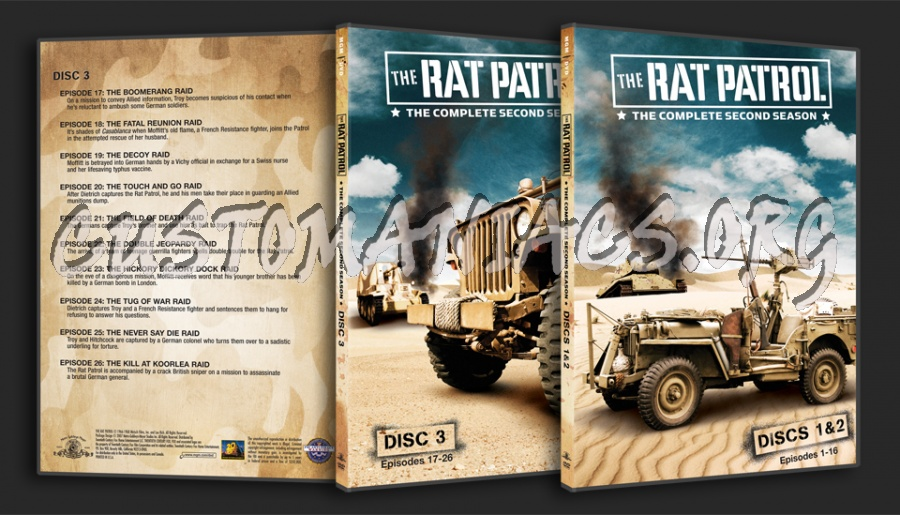 The Rat patrol Season 2