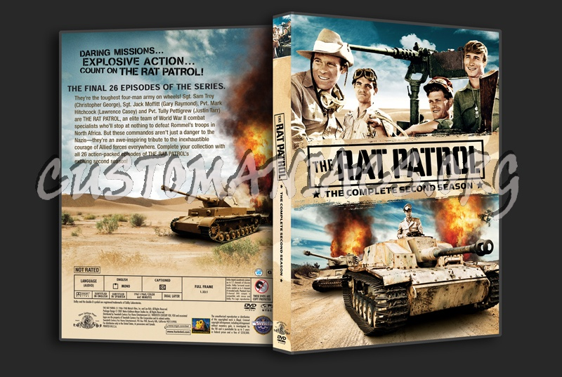 The Rat patrol Season 2 dvd cover