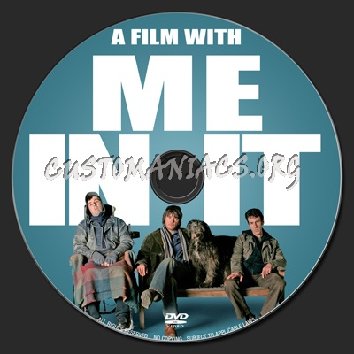 A Film With Me In It dvd label