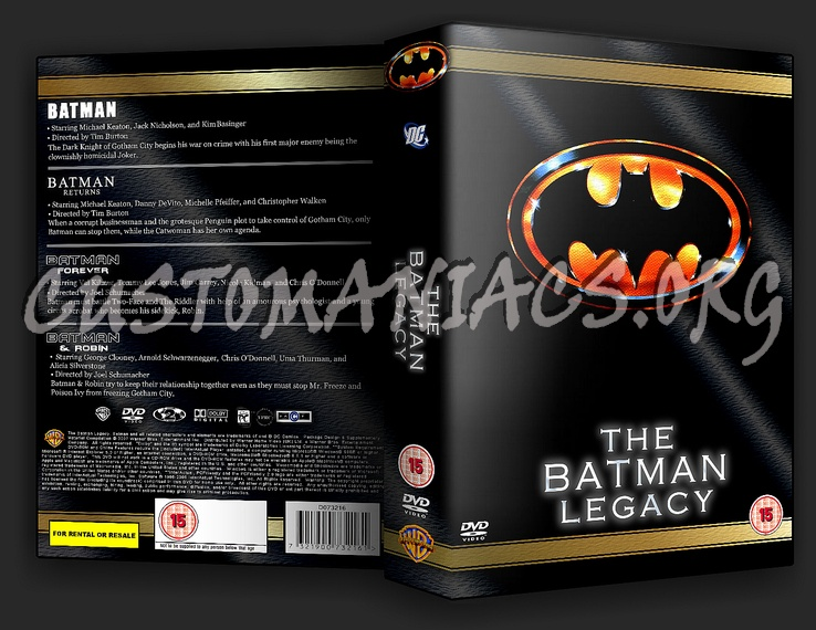 The Batman Legacy dvd cover