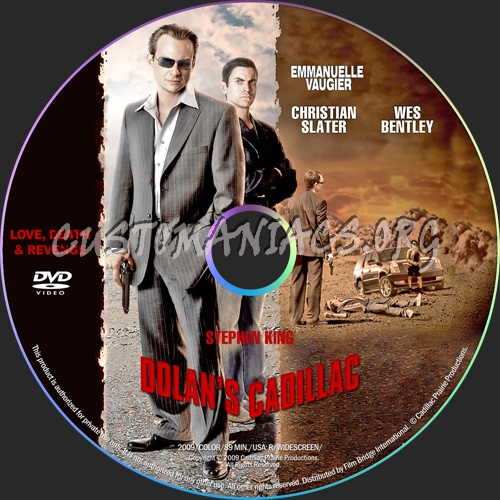 Dolan's Cadillac dvd label
