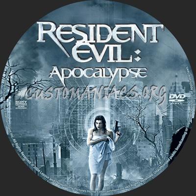 Resident Evil - Apocalypse dvd label