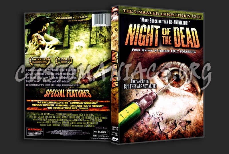 Night Of The Dead dvd cover
