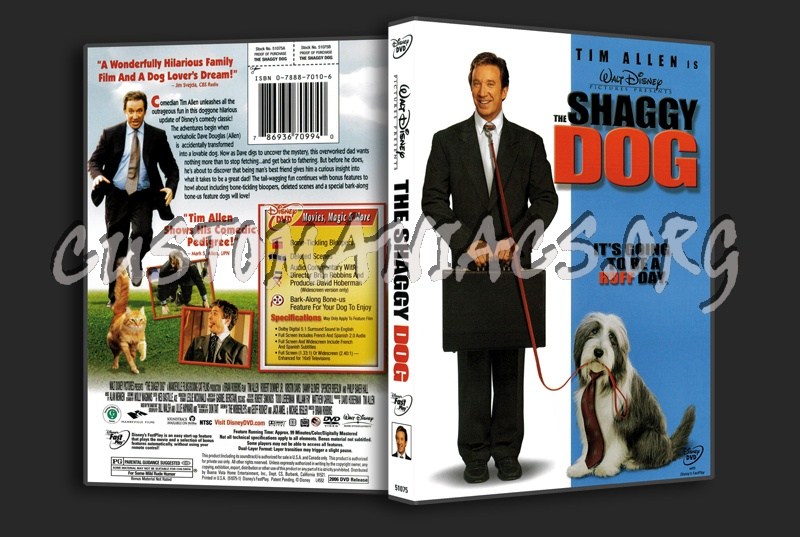 the Shaggy Dog dvd cover