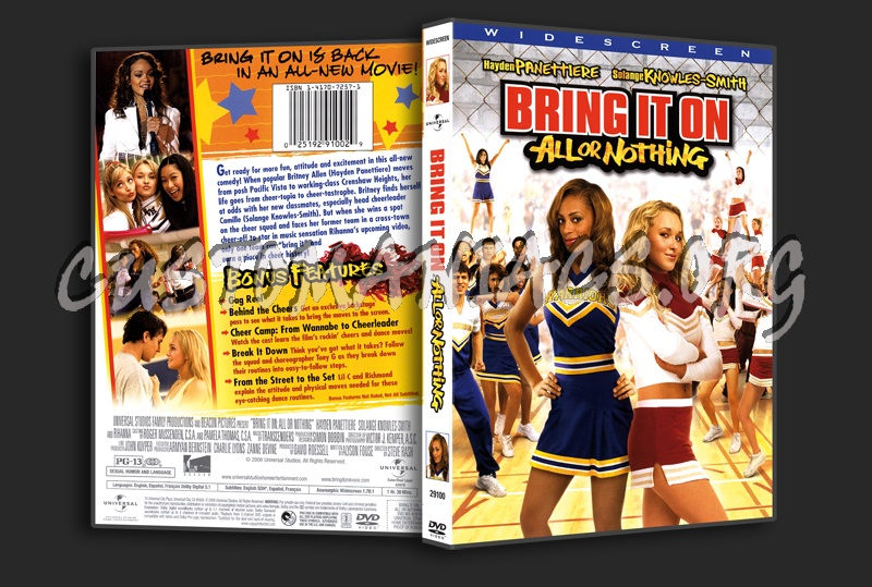 Bring It On All Or Nothing Dvd Cover